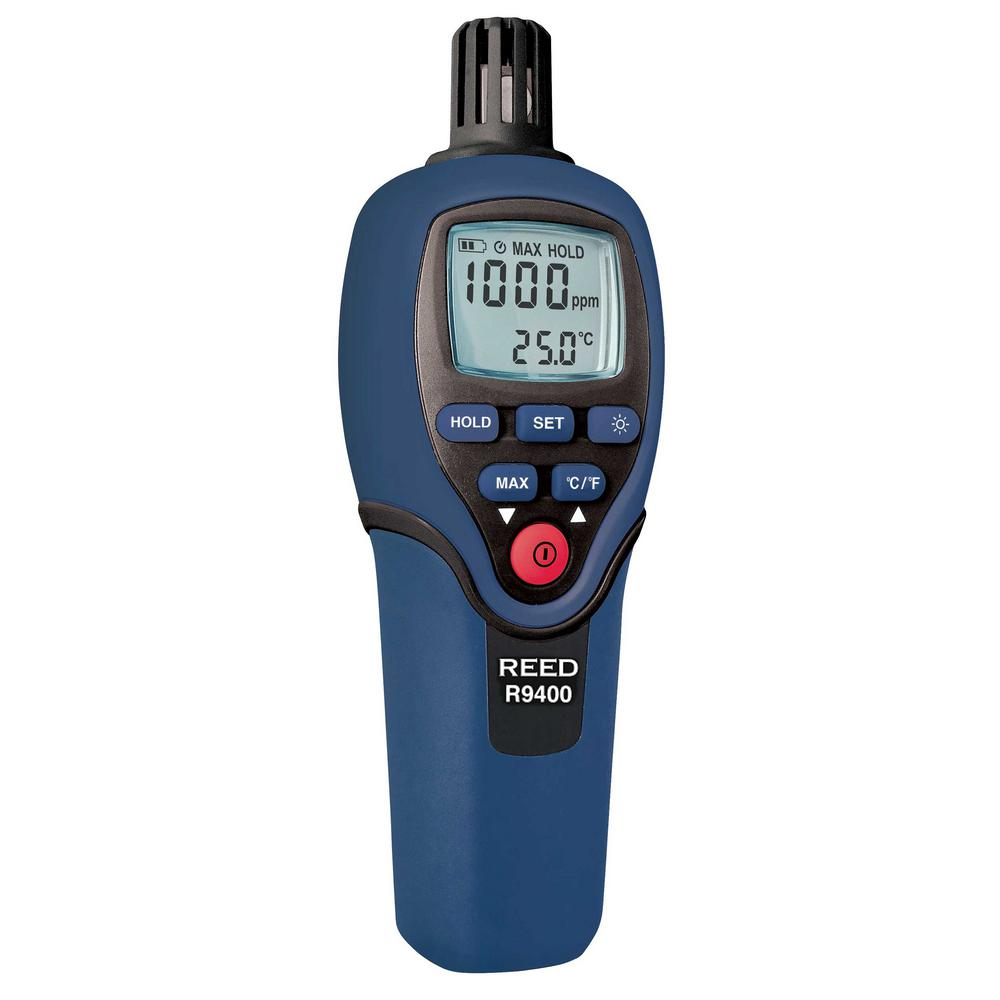 Carbon Monoxide Meter with Temperature