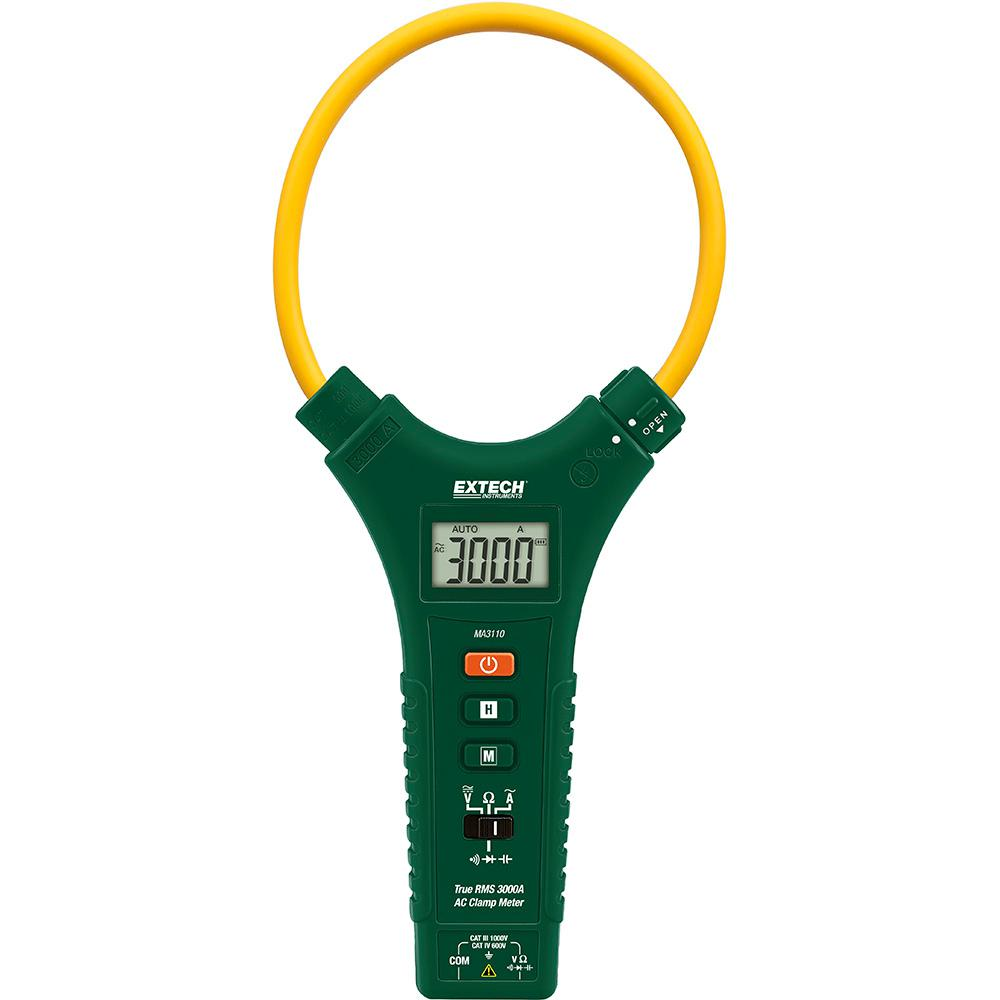CAT IV True RMS 3000 Amp AC Flexible Clamp Meter with NIST